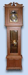 Cherry Colonial Grandfather Clock