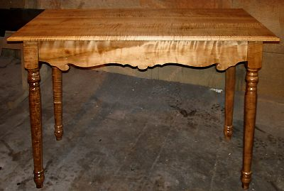 Tiger Maple Colonial Break Front Server