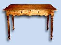 Colonial Tiger Maple Break Front Server
