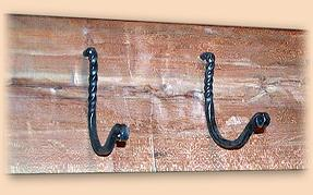 Hand Forged Coat Rack Hoock