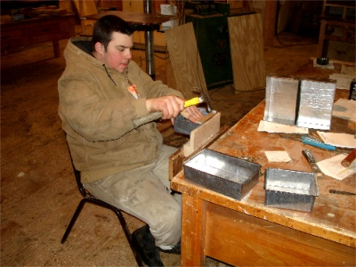 Bobby Delnero Smithing Tin Drawer Containers