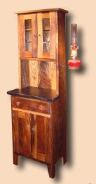 Reclaimed Chestnut Bathroom<br/>Cupboard Reproduction