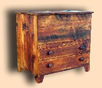 Reclaimed Spruce Rustic Blanket Chest