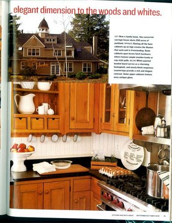 Classic Colonial Pine Custom Kitchen