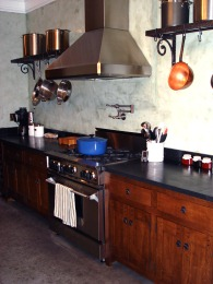 Quarter-Sawn White Oak Mission Style Custom Kitchen
